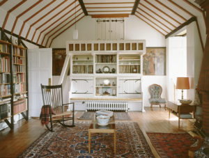 Red House interior
